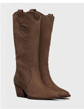 BOTAS WONDERS SERRAJE BORDADO