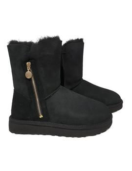 Bota Ugg Bailey Zip Short Negro